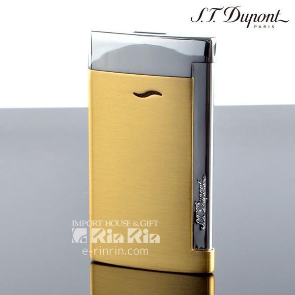 デュポン ライタースリム7 SLIM7 27703 イエローゴールド slim7 デュポンライター[Dupont] ブランド ライター ターボライター