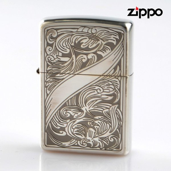 Zippo ジッポライター 2si-arabesque 両面加工 アラベスク