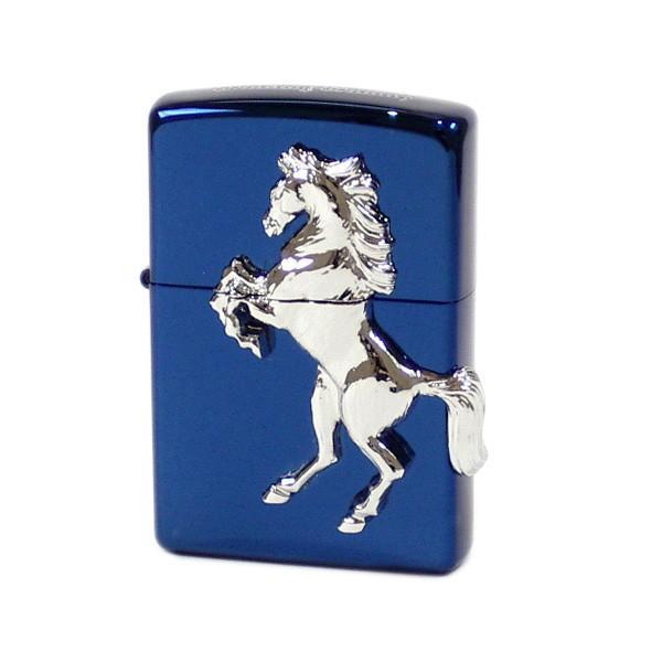ZIPPO Winning Whinny ウイニングウィニー チタニウムブルー 620589 ジッポー ライター