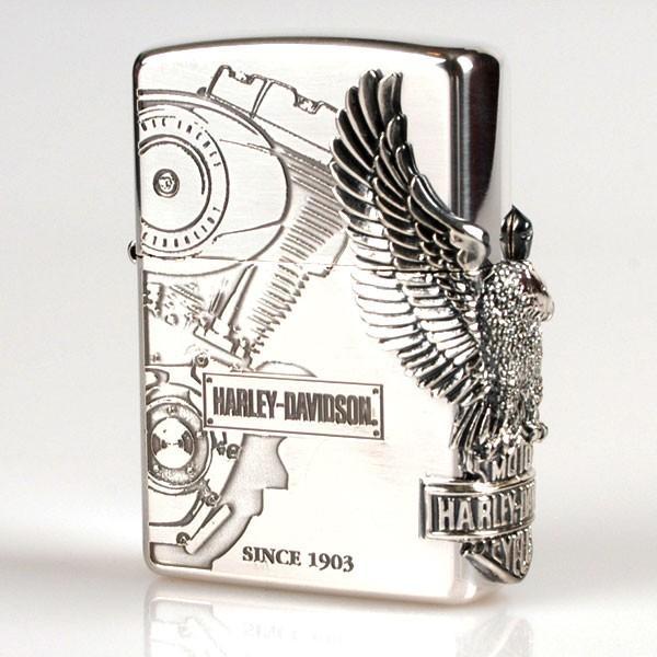 zippo HARLEY サイドメタル HDP-03 ジッポー ハーレー シリーズ ジッポーライター