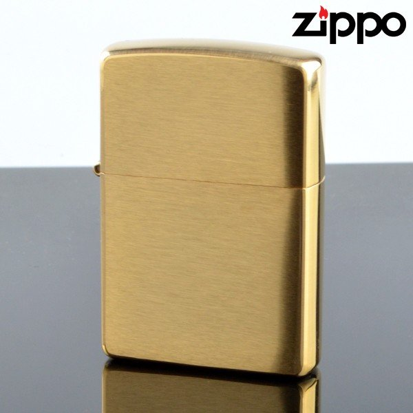 Zippo ジッポライター zp204b スタンダード ブラスサテーナ オイルライター