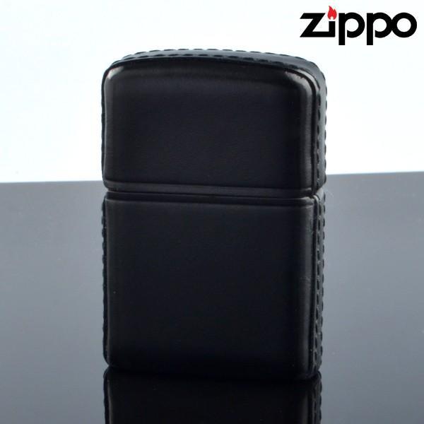 Zippo ジッポライター zp629629 ZP松阪牛革巻 ブラック 松阪牛レザー オイルライター