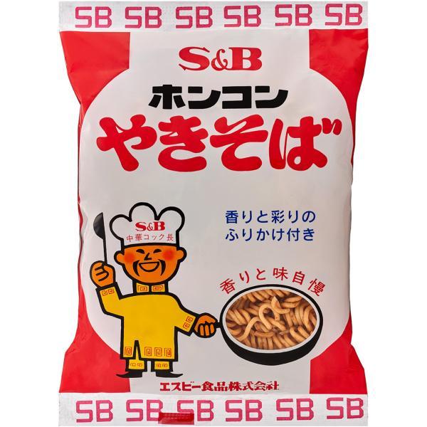 エスビー ホンコンやきそば(30食入り) 地域限定 SB ほんこん 焼きそば  インスタント麺 B級グルメ