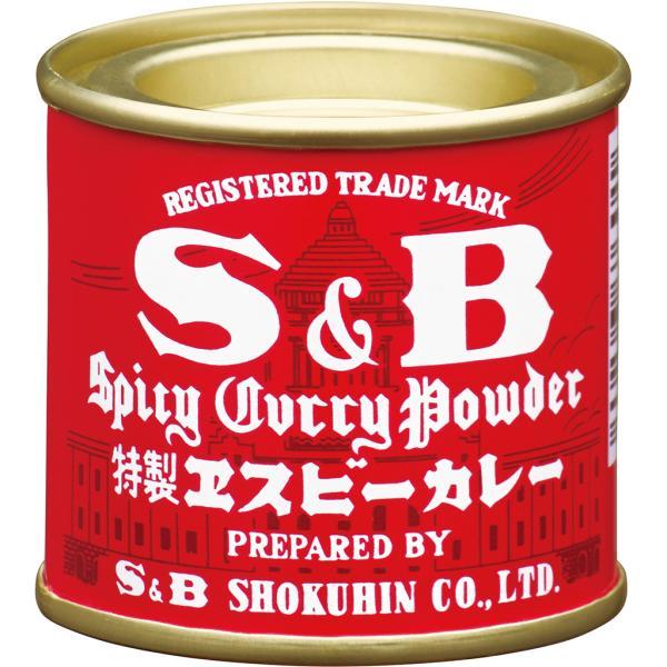 カレー粉 20g エスビー赤缶カレー粉 エスビー SB S&B