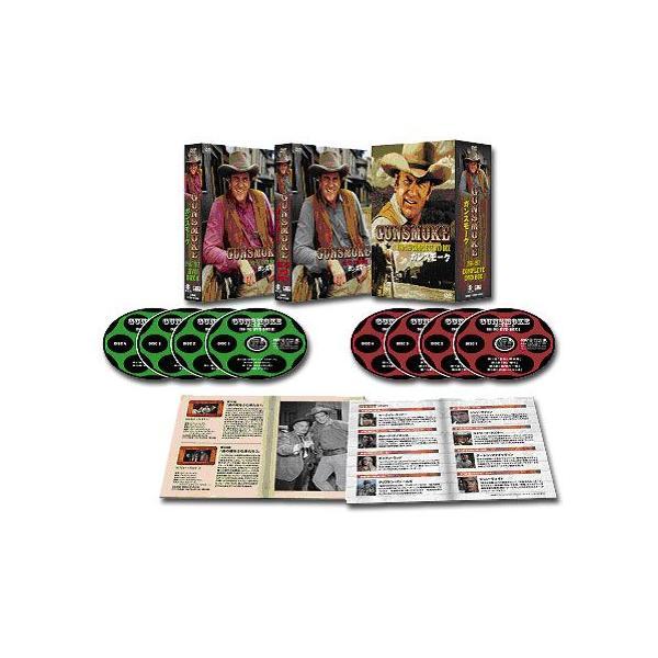 「ガンスモーク GUNSMOKE 1966-1967 」 コンプリートDVD-BOX(全巻セット)