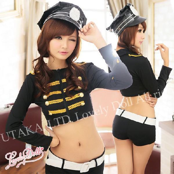 コスプレ ホットパンツ 婦人警官 コスチューム 大人用 ハロウィン 衣装|e-sitagi