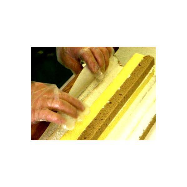 ロールケーキ 個包装 送料無料 お試しセット ふわふわ 手作り (ハーフ分4カット いちご x2+ チョコ x2) メール便商品|e-sjapan|03
