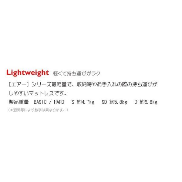 【P10倍】西川 エアー シングル ハード ブルー 新モデル AiR 01 マットレス 8×97×195cm 敷き布団 AI9651 HC09401631B|e-sleep-style|12