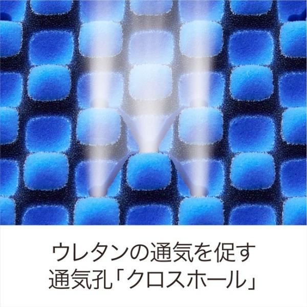 【P10倍】西川 エアー シングル ハード ブルー 新モデル AiR 01 マットレス 8×97×195cm 敷き布団 AI9651 HC09401631B|e-sleep-style|06