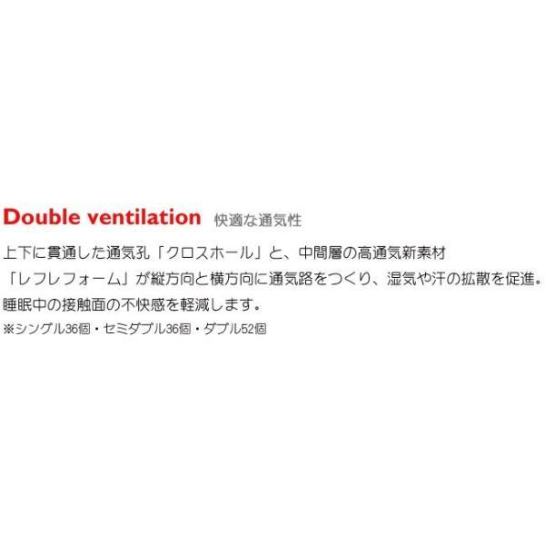 【P10倍】西川 エアー シングル ハード ブルー 新モデル AiR 01 マットレス 8×97×195cm 敷き布団 AI9651 HC09401631B|e-sleep-style|07