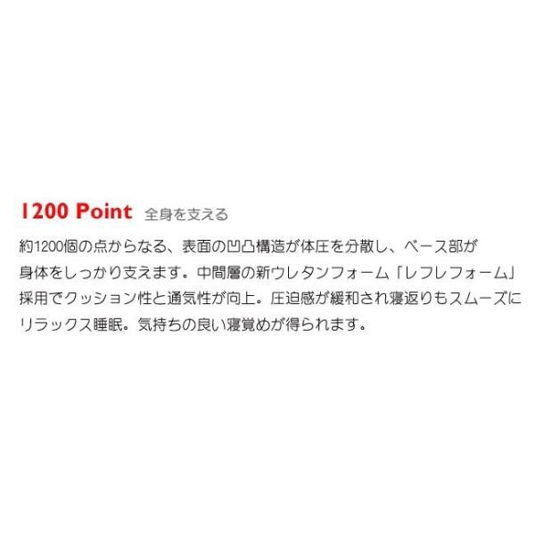 【P10倍】西川 エアー シングル ハード ブルー 新モデル AiR 01 マットレス 8×97×195cm 敷き布団 AI9651 HC09401631B|e-sleep-style|09