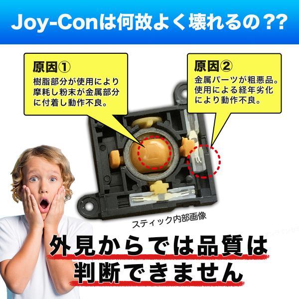 ニンテンドー スイッチ ジョイコン 修理キット switch コントローラー パーツ joy-con スティック|e-sma|07