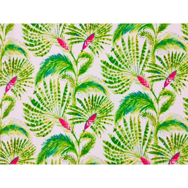 USA輸入生地・インテリアファブリック・カルトナージュ PALM PINK P/KAUFMANN|e-son-fabric