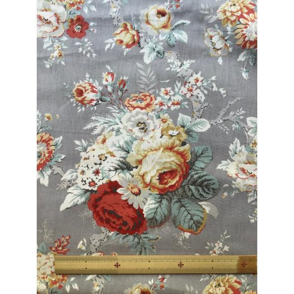 USA輸入生地・インテリアファブリック・カルトナージュ SANCTUARY ROSE P/KAUFMANN|e-son-fabric|03