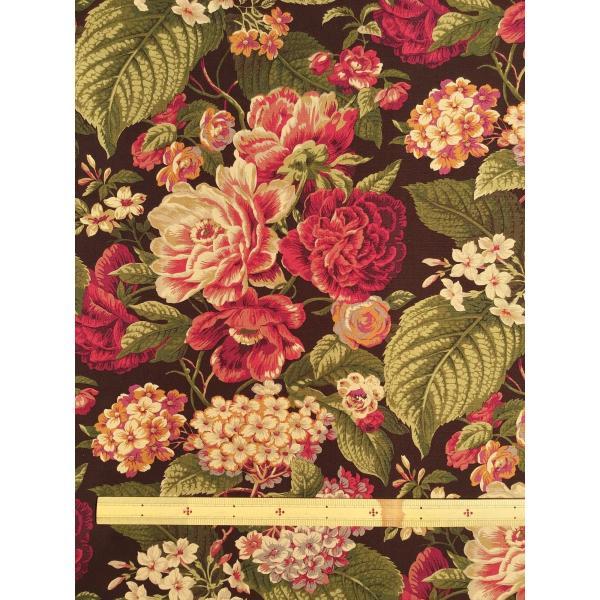 USA輸入生地・インテリアファブリック・カルトナージュ FLORAL FLOURISH P/KAUFMANN|e-son-fabric|03