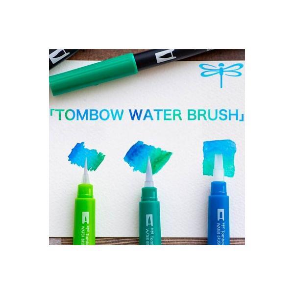 RoomClip商品情報 - トンボ鉛筆 トンボ ウォター ブラッシュ ブラッシュペン デュアル  AB-T 水性マーカー(WB-SM WB-ME WB-FL)