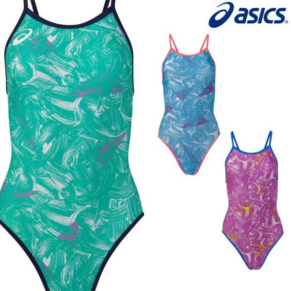 アシックス asics 競泳水着 ジュニア女子 練習用 ジュニアレギュラー リピーテクス3 競泳練習水着 2021年春夏モデル 2162A280J