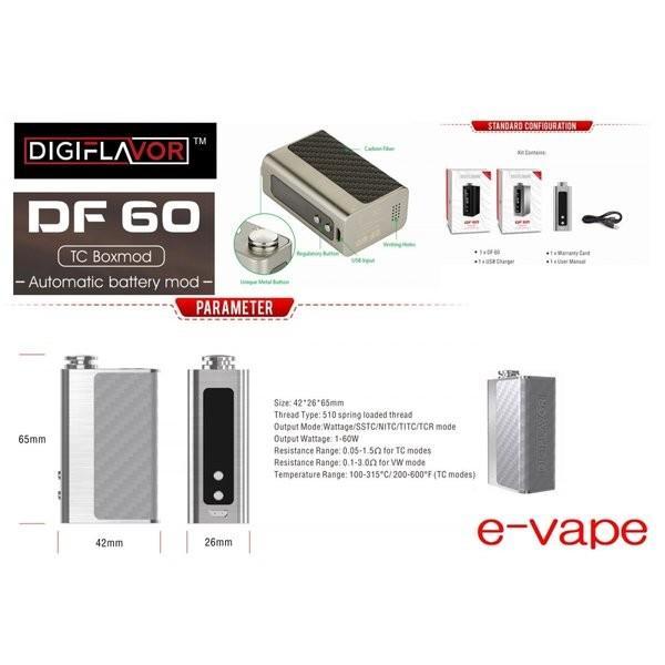 Digiflavor DF 60 TC MOD 1700mAh 箱なし送料節約|e-vapejp|02