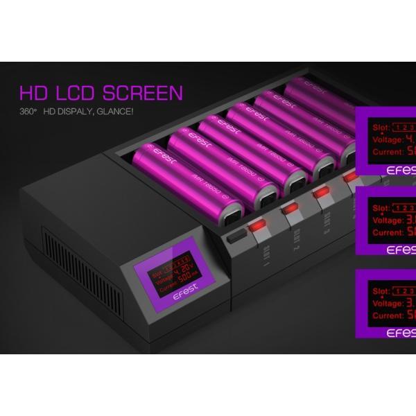 Efest New LUC Blu6 Bluetooth 6 Bay Charger|e-vapejp|04