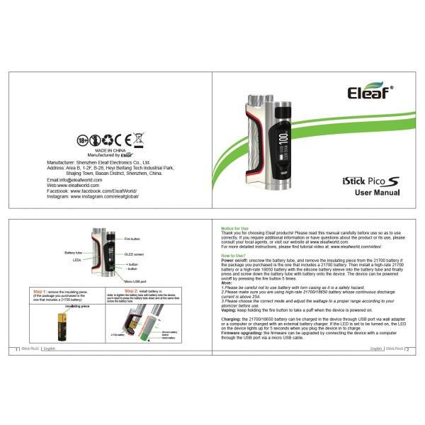 Eleaf iStick Pico S MOD 21700バッテリー付属|e-vapejp|09