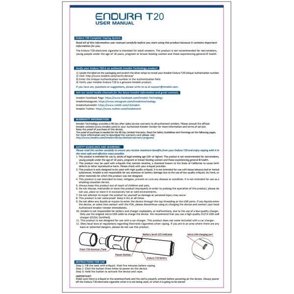 Innokin Endura T20エンデュラ e-vapejp 06