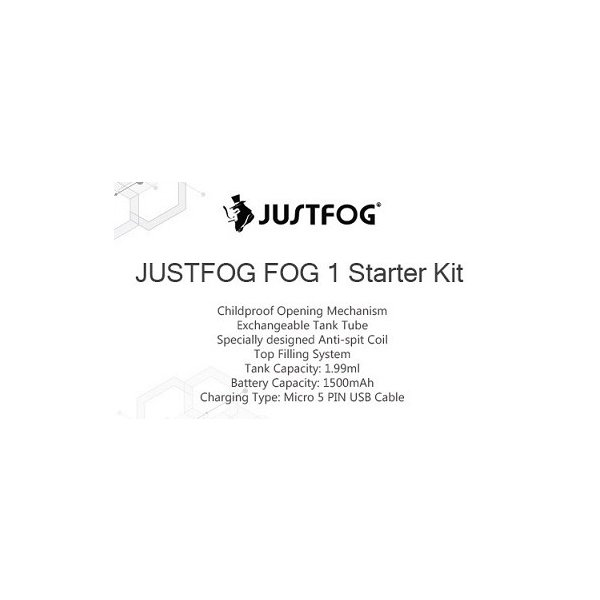 JUSTFOG FOG1 Kit 1500mAhジャストフォグ フォグワン|e-vapejp|15