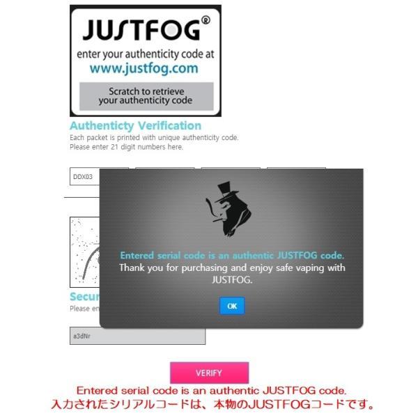 JUSTFOG MINIFIT最少サイズミニフィット|e-vapejp|16