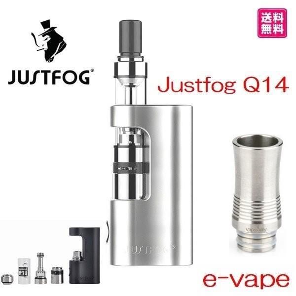 Justfog Q14 Compact Kit 1.8ml 900mah プルームテック対応 e-vapejp