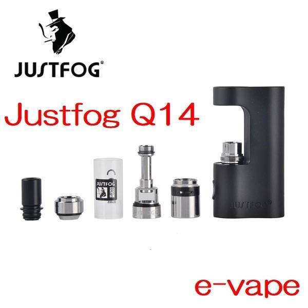 Justfog Q14 Compact Kit 1.8ml 900mah プルームテック対応 e-vapejp 02