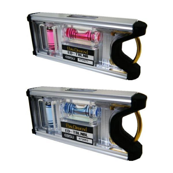 エビストビレベル(カラー気泡管)水平器、ED-TBLN
