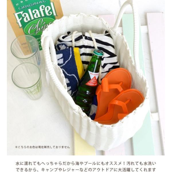 かごバッグ カゴバッグ ビニール トートバッグ レディース 収納 インテリア 鞄 バスケット 子供 エコバッグ ストローバッグ|e-zakkamania|18