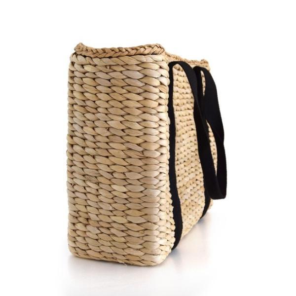 カゴバッグ トートバッグ 鞄 夏 かごバッグ バスケット レディース ピクニック お花見 アウトドア 海 レジャー 保冷バッグ クーラーバッグ フェス|e-zakkamania|12