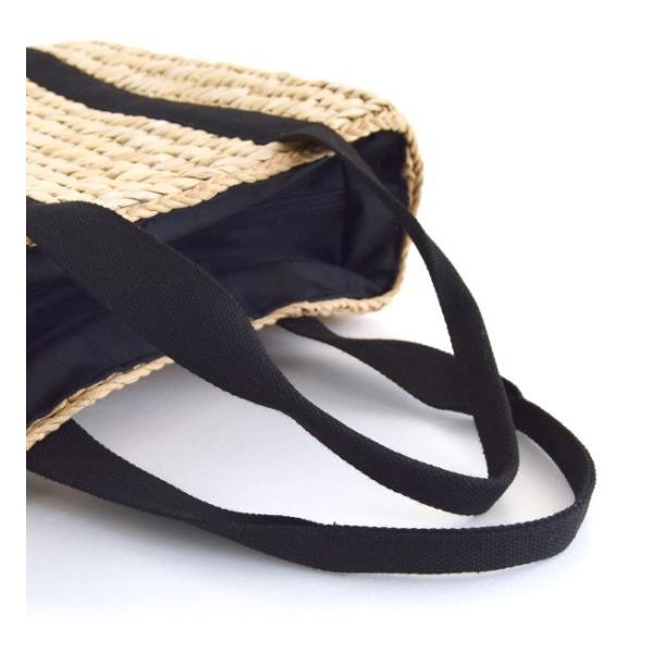 カゴバッグ トートバッグ 鞄 夏 かごバッグ バスケット レディース ピクニック お花見 アウトドア 海 レジャー 保冷バッグ クーラーバッグ フェス|e-zakkamania|15