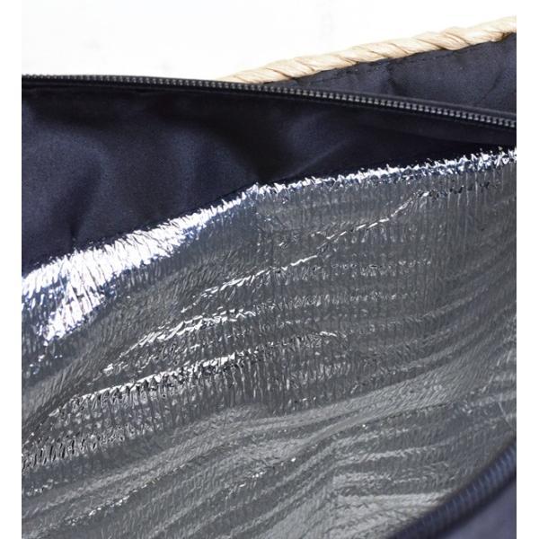 カゴバッグ トートバッグ 鞄 夏 かごバッグ バスケット レディース ピクニック お花見 アウトドア 海 レジャー 保冷バッグ クーラーバッグ フェス|e-zakkamania|17