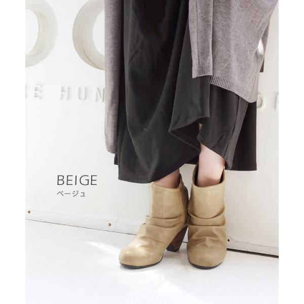 ショートブーツ レディース ブーティー ブーツ 歩きやすい 痛くない 秋 冬 フェイクレザー 婦人靴 チェック柄 無地|e-zakkamania|16