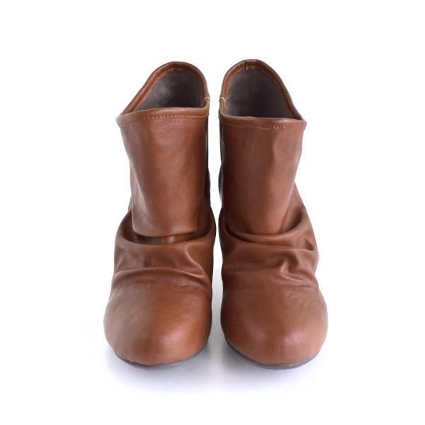 ショートブーツ レディース ブーティー ブーツ 歩きやすい 痛くない 秋 冬 フェイクレザー 婦人靴 チェック柄 無地|e-zakkamania|18