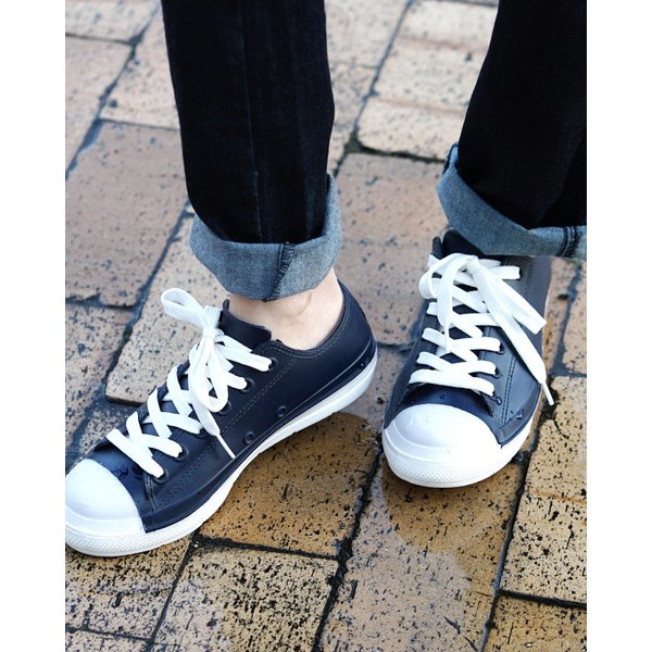 レインシューズスニーカー靴雨雨靴防水レインローカット雪黒白通勤通学軽量軽いレディースシューズレインブーツ