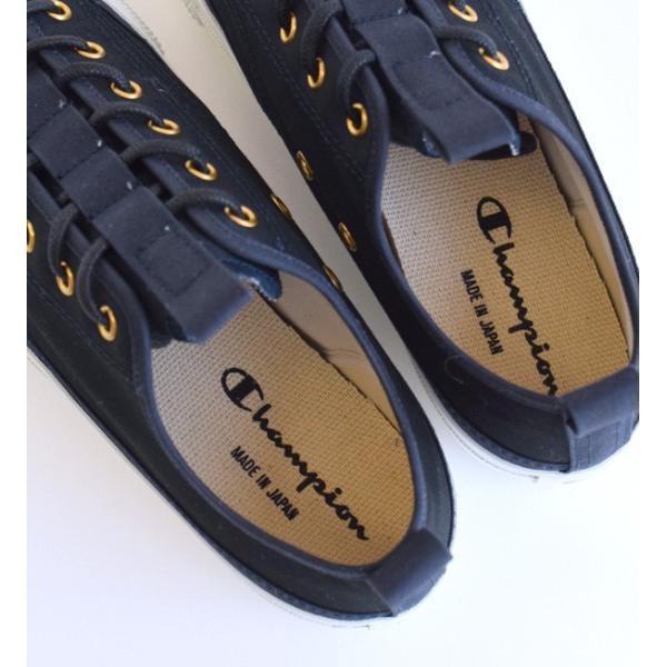 スニーカー チャンピオン レディース シューズ 紺 黒 撥水性 ローカット 送料無料 靴 くつ 大きいサイズ C2-L701 CHAMPION|e-zakkamania|15
