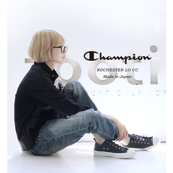 スニーカー チャンピオン レディース シューズ 紺 黒 撥水性 ローカット 送料無料 靴 くつ 大きいサイズ C2-L701 CHAMPION|e-zakkamania|03