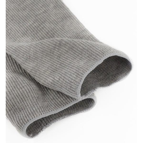 靴下 ソックス レディース 白 リブ ロング ルーズソックス くしゅくしゅ 細か 畝 おしゃれ かわいい ハイソックス シンプル 定番|e-zakkamania|04