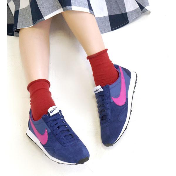 靴下 ソックス レディース くつ下 日本製 綿混 フットウエア カラーソックス 無地 シンプル ショート リブ コットン プレゼント 女性 e-zakkamania 11