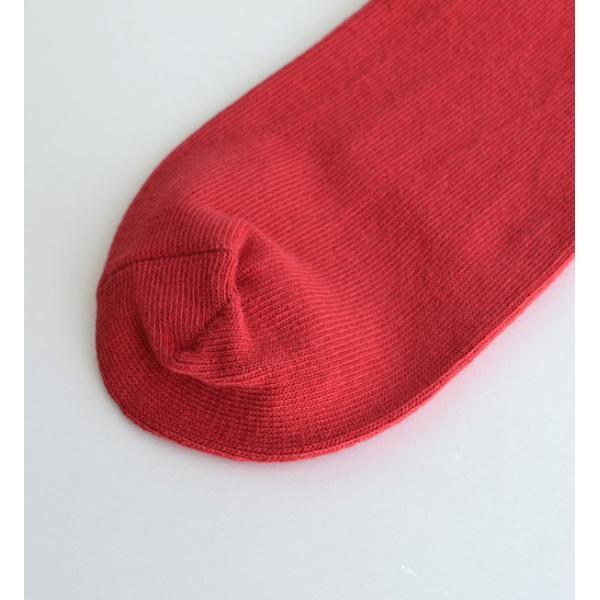 靴下 ソックス レディース くつ下 日本製 綿混 フットウエア カラーソックス 無地 シンプル ショート リブ コットン プレゼント 女性 e-zakkamania 17