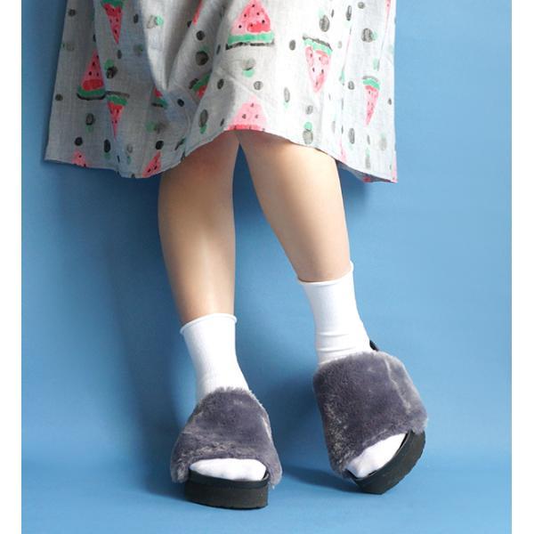 靴下 ソックス レディース くつ下 日本製 綿混 フットウエア カラーソックス 無地 シンプル ショート リブ コットン プレゼント 女性 e-zakkamania 10