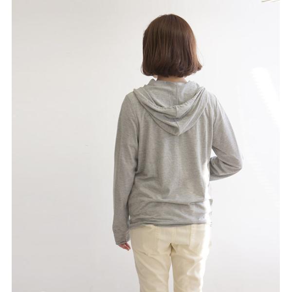 UVパーカー レディース 薄手 涼しい UVカット 紫外線カット 紫外線対策 パーカー フード付 長袖 羽織り 大きいサイズ|e-zakkamania|11