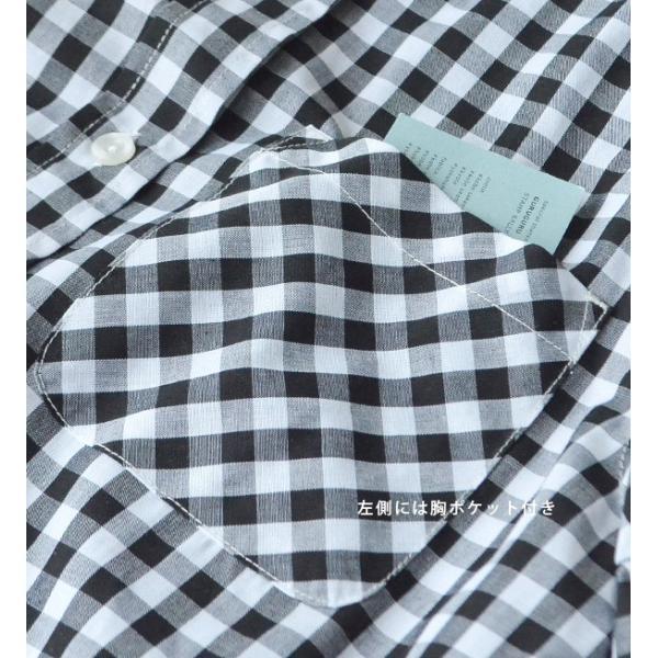 UVカット シャツ ブラウス レディース 長袖 白シャツ ゆったり UV対策 日焼け対策 紫外線 UVカットシャツ チェックシャツ 秋|e-zakkamania|11