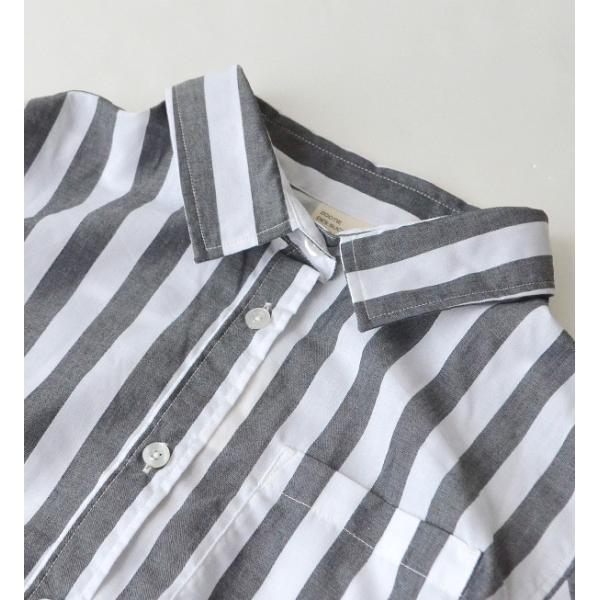 UVカット シャツ ブラウス レディース 長袖 白シャツ ゆったり UV対策 日焼け対策 紫外線 UVカットシャツ チェックシャツ 秋|e-zakkamania|13