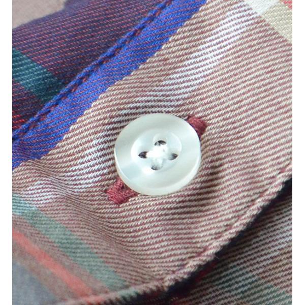 UVカット シャツ ブラウス レディース 長袖 白シャツ ゆったり UV対策 日焼け対策 紫外線 UVカットシャツ チェックシャツ 秋|e-zakkamania|10