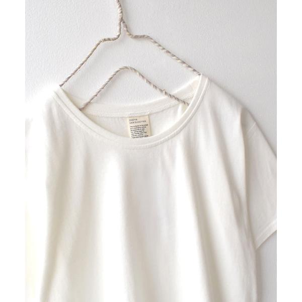 汗しみ防止 Tシャツ レディース 半袖 汗 吸収 速乾 脇汗 綿100% UV対策 カットソー ゆったり 大きいサイズ 無地 トップス|e-zakkamania|12