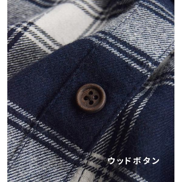 シャツ チェックシャツ チェック ネル 長袖 レディース 大きいサイズ ネルシャツ ニット トップス フランネル e-zakkamania 12