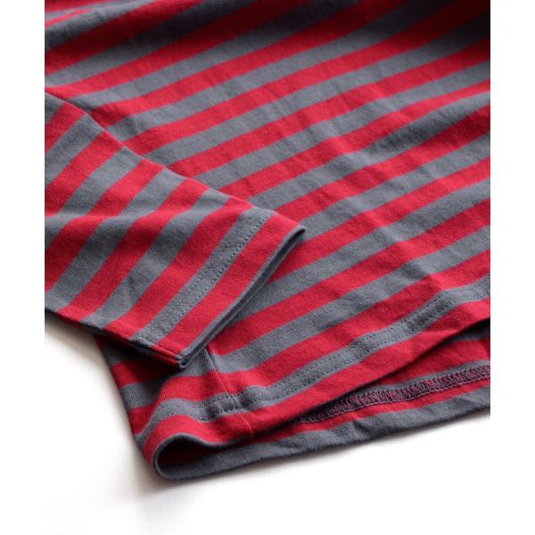 カットソー ロンTee 綿100% 7分袖 七分袖 レディース 長袖 無地 ボートネック ゆったり 大きいサイズ 大きめ レディース トップス お揃い メンズ 春 夏|e-zakkamania|09